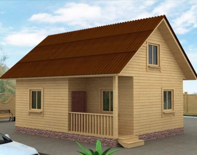 Дачный дом ДД-20 (нажмите для увеличения)