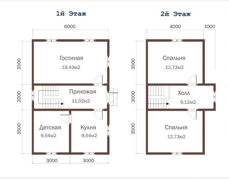 Дачный дом ДД-28 (нажмите для увеличения)