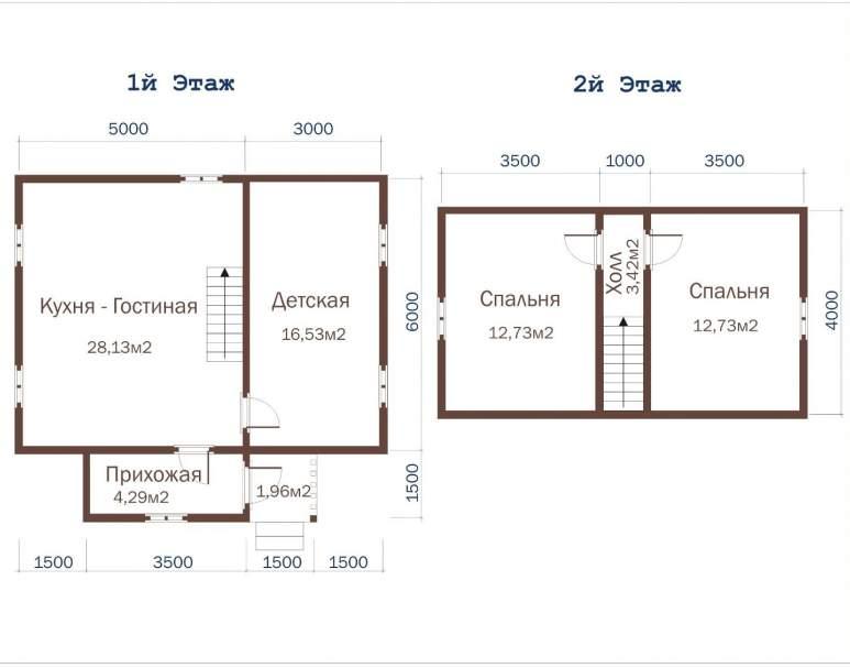 Дачный дом ДД-34 (нажмите для увеличения)
