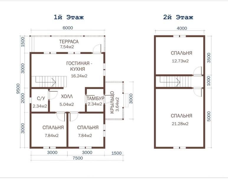 Дачный дом ДД-36 (нажмите для увеличения)