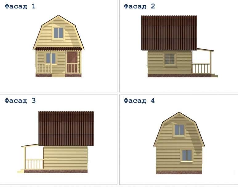 Дом из бруса ДД-2 (нажмите для увеличения)