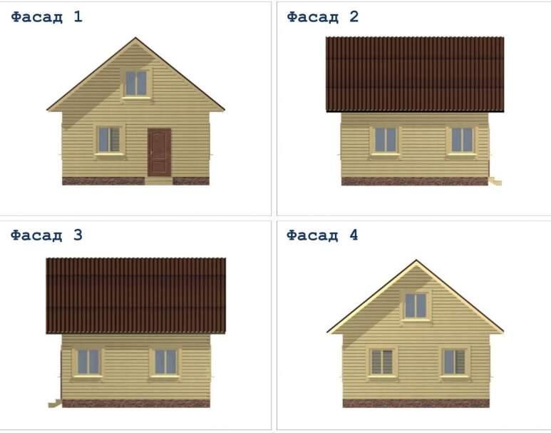 Дачный дом ДД-12 (нажмите для увеличения)