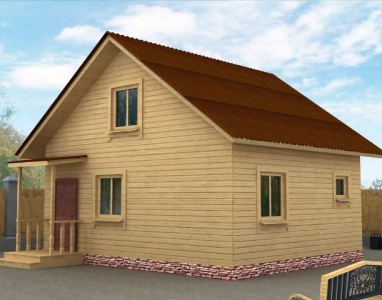 Дачный дом ДД-18 (нажмите для увеличения)