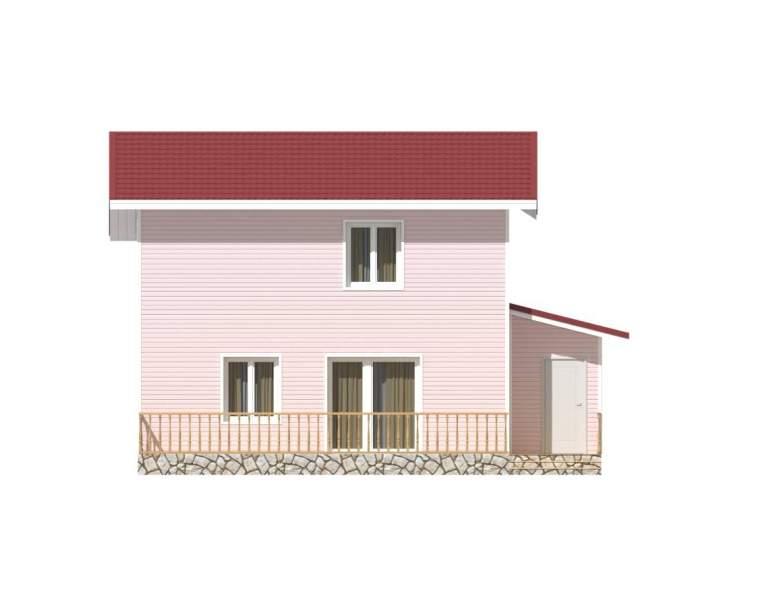 Каркасный дом КСД-17 (нажмите для увеличения)